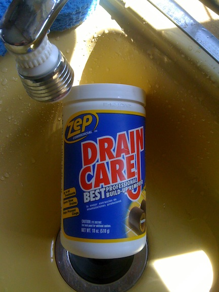 Zep A Drain Build Up Remover That Will Save You Big Money