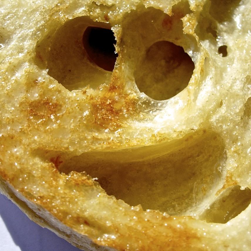 Sourdough Smiley, 1