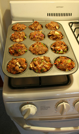 meatloaf cupcakes small