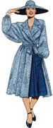 gal in blue dress