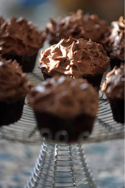 Cup cakes dof